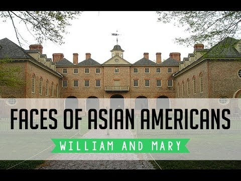 Faces of Asian Americans at William and Mary Documentary