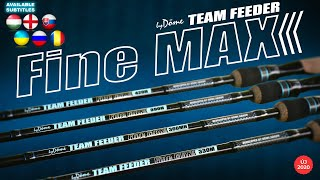 The introduction of the By Döme TEAM FEEDER Fine Max rod range