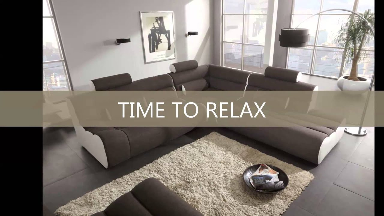 trendmanufaktur new look moebel hannover ecksofa youtube. Black Bedroom Furniture Sets. Home Design Ideas