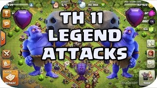 TH-11 vs TH-11 Best ever attack OMG you cnt do attack better than this||CLASH OF CLANS||