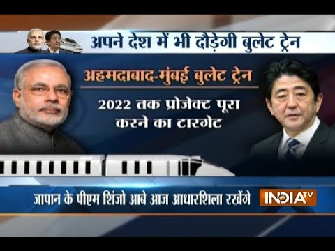 Modi, Abe to kick off bullet train project today