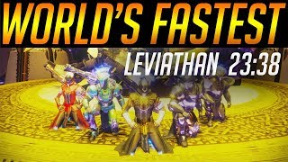 Destiny 2: World's fastest Leviathan raid (23:38) - By Euros