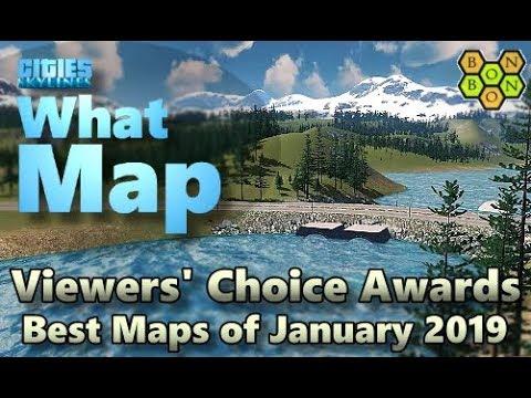 Cities Skylines - Top Ten Maps - January 2019 - Viewers' Choice