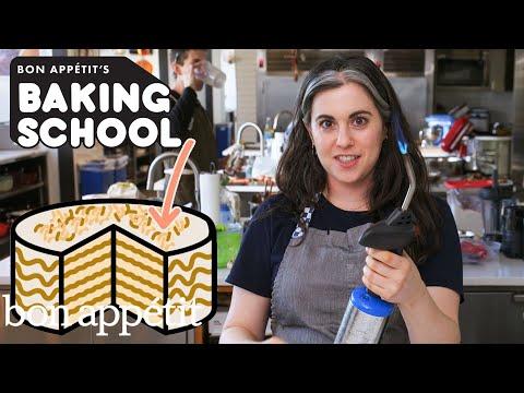 Claire Teaches You Cake Decoration (Lesson 5) | Baking School | Bon Appétit