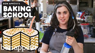 Claire Teaches You Cake Decoration (Lesson 5) | Baking School | Bon Apptit