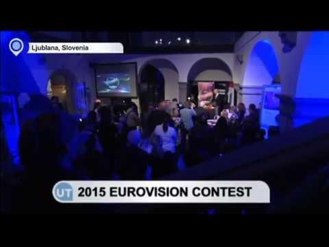 2015 Eurovision Song Contest: Slovenia and Austria present their contestants