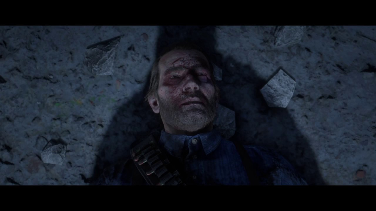 Red Dead Redemption 2 - Arthur Morgan Death Scene (Good Honor) - YouTube