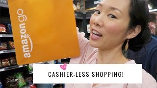 Inside the Amazon Go Store ♥ Cashier-less Shopping!