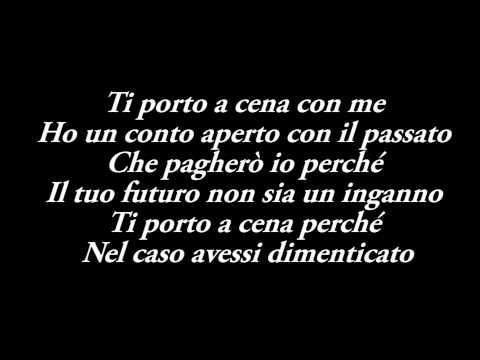 Giusy Ferreri - Ti Porto A Cena Con Me Testo - Sanremo 2014