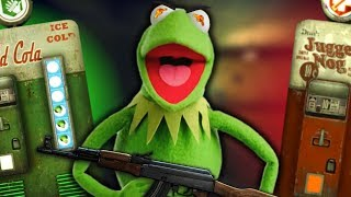 KERMIT DESTROYS ZOMBIES WITH EASE