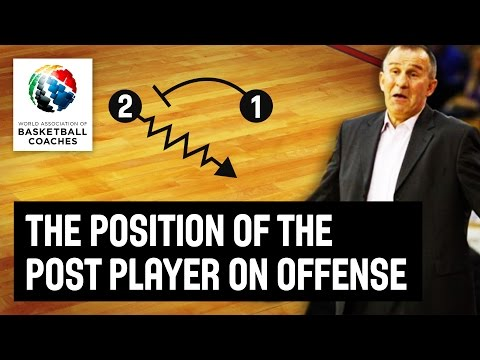The Position of the post player on offense - Ivan Sunara - Basketball Fundamentals