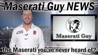 Gambar cover The Maserati you've (probably) never heard of | MG NEWS