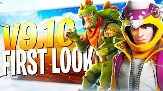 FREE GOLD BOII!! V9.10 First Look | Fortnite Save The World