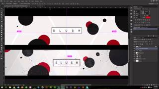 2D Circle Style YouTube Banner | Tutorial | Photoshop CC
