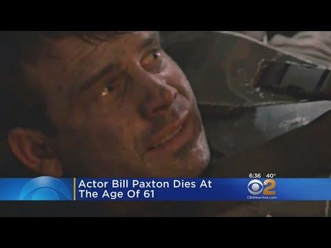Actor Bill Paxton Dead At 61
