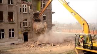 Rozbiórka Kamienicy w Kwidzynie