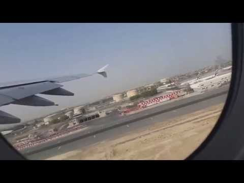 Dubai - Amsterdam Emirates A380 Full Flight