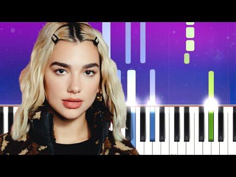 Dua Lipa - Love Again (Piano tutorial)