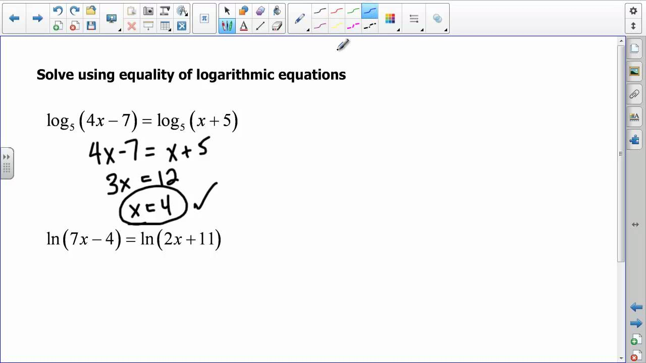 worksheet Solving Exponential And Logarithmic Equations Worksheet how to solve exponential and logarithmic equations jennarocca algebra 2 solving you