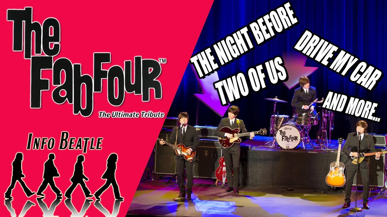 THE FAB FOUR - THE ULTIMATE TRIBUTE LIVE   Info Beatle