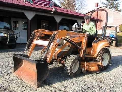CAB CADET 6284 Tractor 812 Loader 4WD on EBAY - YouTube