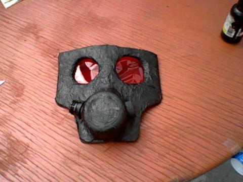 Como hacer una mascara de gas modelo s10 part 2 how to - Como hacer una mascara ...