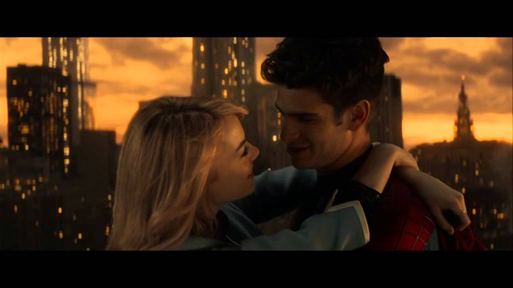 the amazing spiderman 2 scene d 39 amour gwen et peter youtube. Black Bedroom Furniture Sets. Home Design Ideas