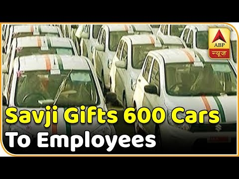 Master Stroke: Surat-Based Diamond Merchant Savji Dholakia Gifts 600 Cars To Employees | ABP News