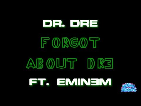 Forgot About Dre - Dr. Dre ft. Eminem (Karaoke)