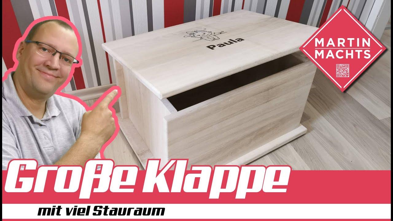 Große Klappe mit viel Platz - Die Kiste!