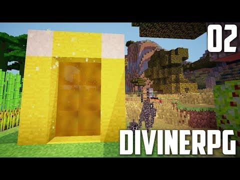 ПЕРВЫЙ ПОРТАЛ В ЭДЕМ | #02 | Divine RPG 1.7.10