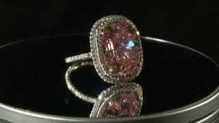 Roze diamant geveild voor 28 miljoen dollar