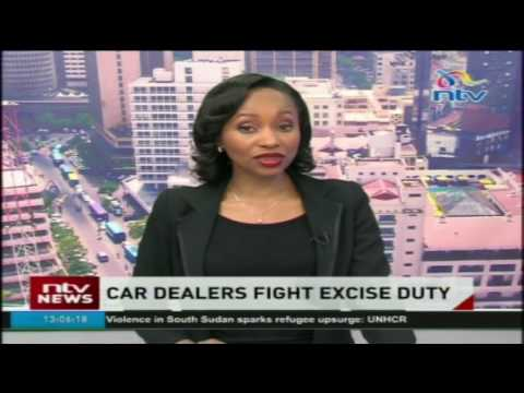 Car dealers fight excise duty