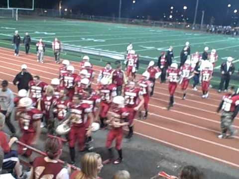 Snohomish High School Varsity Football 2011 End Of Game Youtube