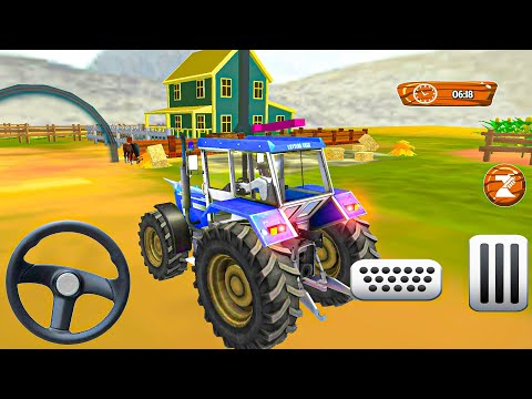 Modern Farming Simulator Games - Real Tractor Drive Cargo 3D - Android Gameplay