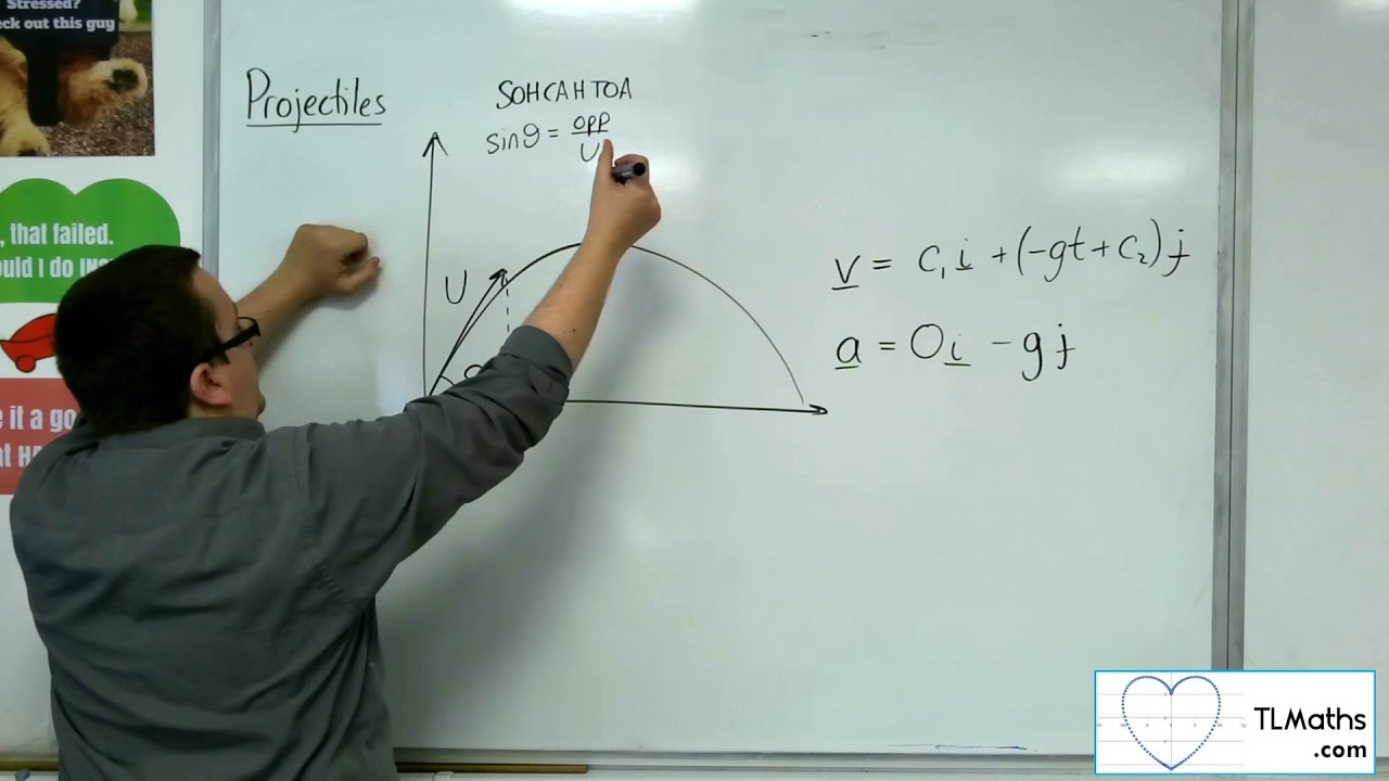 Download A-Level Maths: Q5-01 Projectiles: Introducing Projectiles