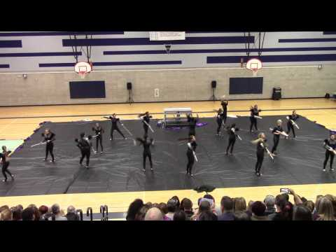 Spanish Springs High School Colorguard- 2/27/16