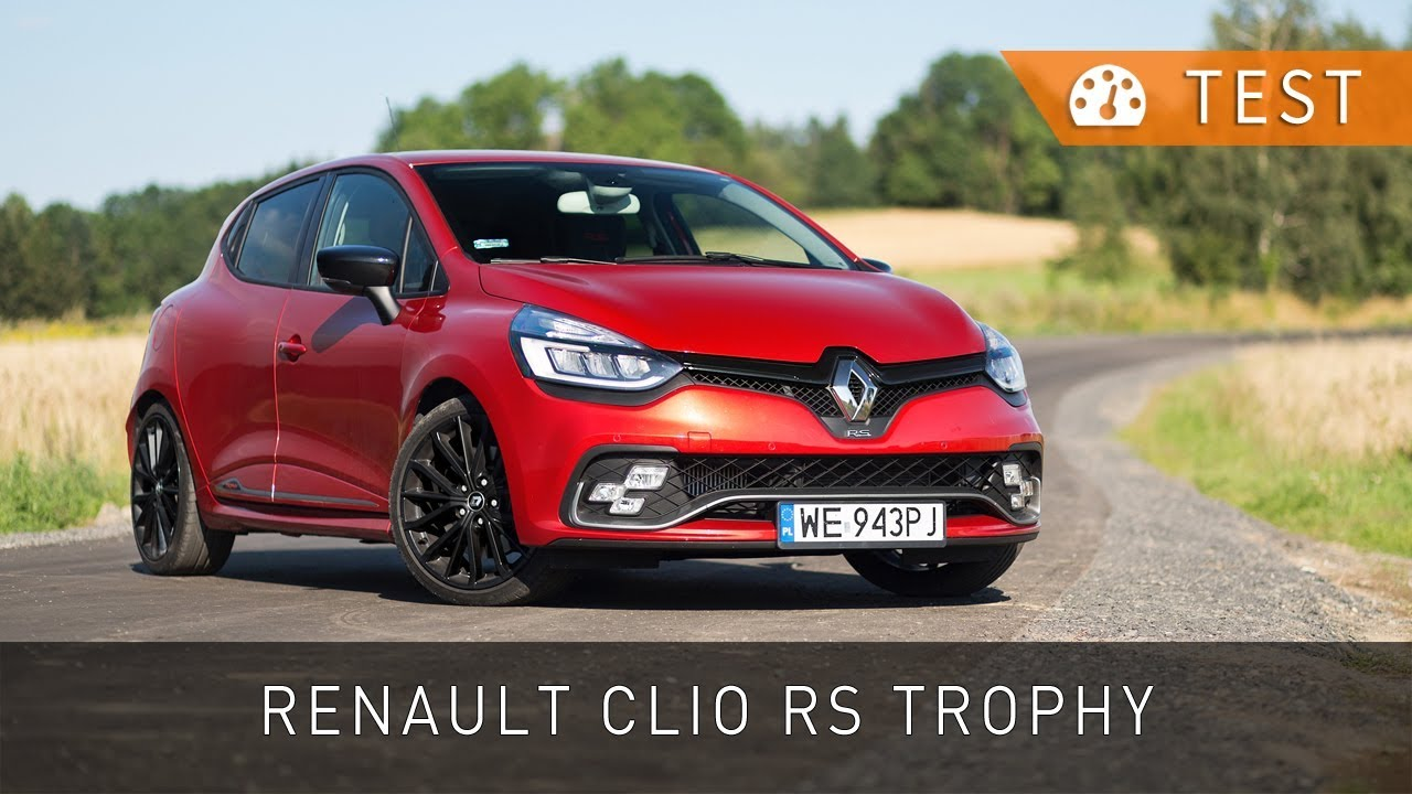 renault clio r s 220 trophy 2017 test pl project automotive youtube. Black Bedroom Furniture Sets. Home Design Ideas