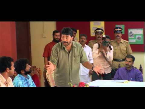 Bus Conductor Malayalam Movie | Malayalam Movie | Mammooty Hits Adithya In Police Station | 1080P HD