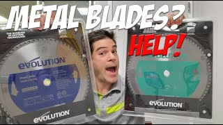 """Evolution Metal Saw Blades Review For 14"""" Chop Saws"""