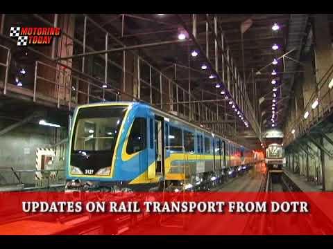 UPDATES ON RAIL TRANSPORT FROM DOTR   Motoring News