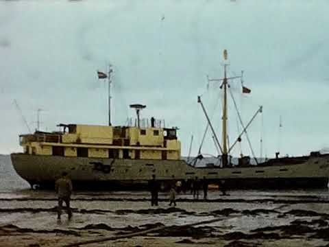 Cable Ship Aground