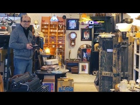 Inside a Montreal curiosity shop with inventory spanning centuries