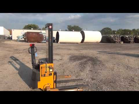 Used- CAT Stand Up Riding Forklift stock # 44286069
