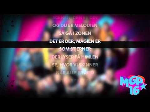 MGP Allstars - Vores MGP | Karaoke | MGP 2016