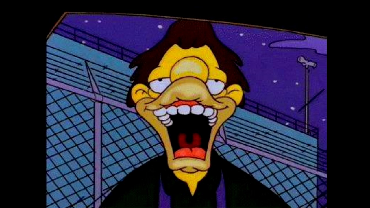 The Simpsons Weird Faces 4