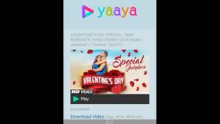 How to download hd video in mobile with yaaya.mobi