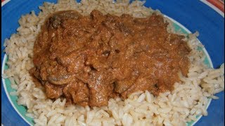 Beef Stroganoff - Slow Cooker Recipe