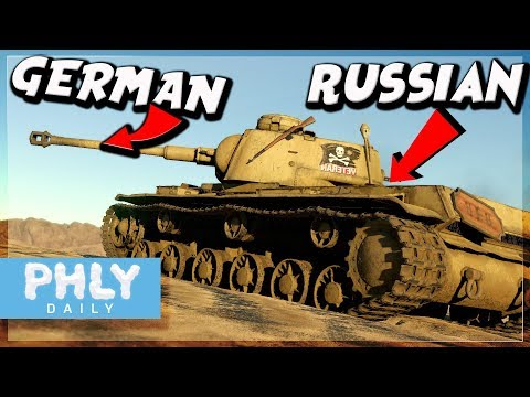 A German And A Russian Have Unprotected Engineering Session | KV-1 756