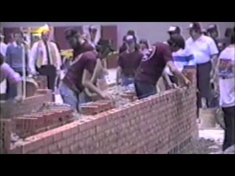 World Record Bricklayer, (4 of 6)